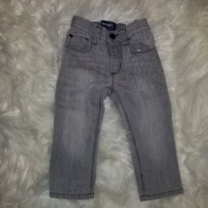 Old navy toddler gray skinny jeans